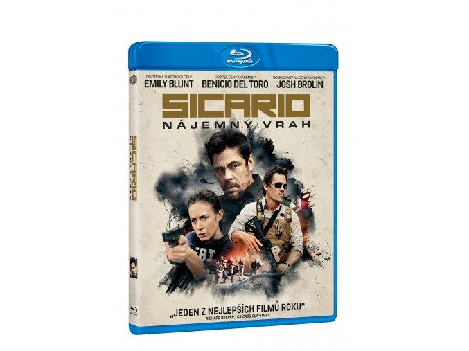 Blu-ray: Sicario - Nájemný vrah