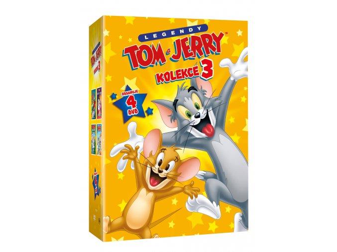 Tom a Jerry kolekce 3. 4DVD