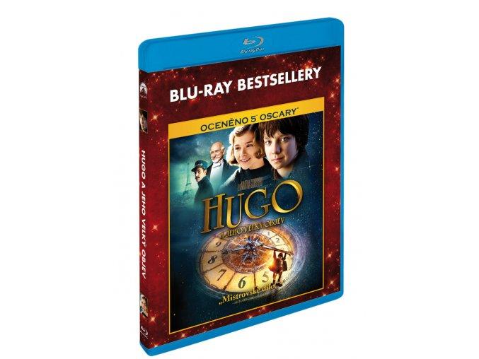 Hugo a jeho velký objev BD - Blu-ray bestsellery