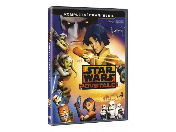 DVD: Star Wars: Povstalci 1. série 3DVD