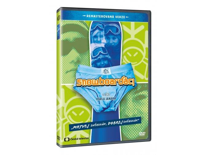 Snowboarďáci DVD - remasterovaná verze