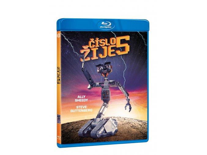 Blu-ray: Číslo 5 žije