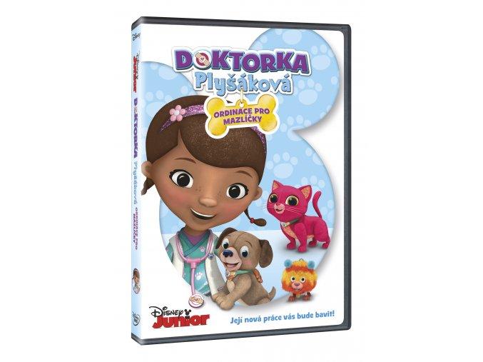 DVD: Doktorka Plyšáková: Ordinace pro mazlíčky