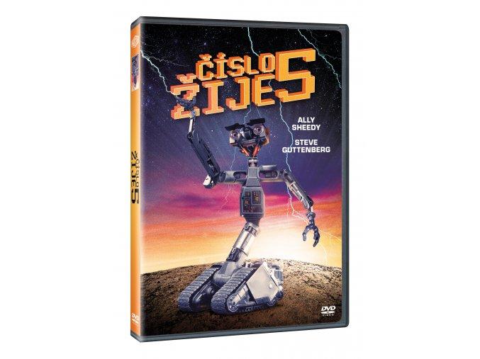 Číslo 5 žije DVD