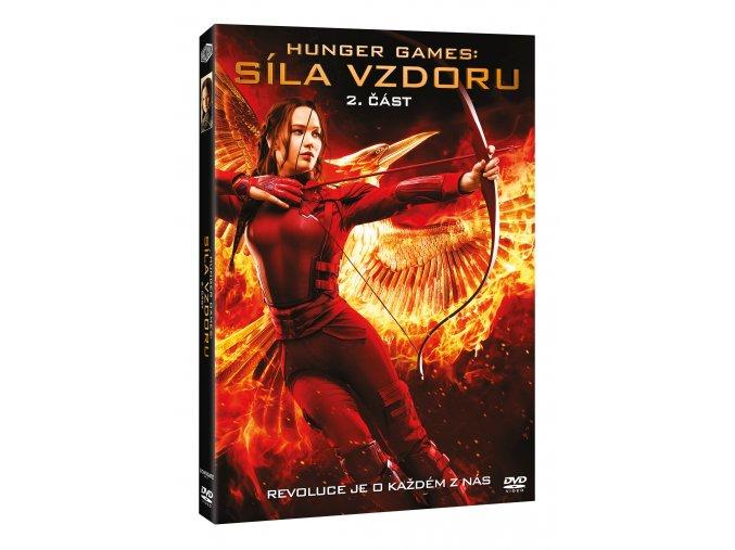 DVD: Hunger Games: Síla vzdoru 2. část