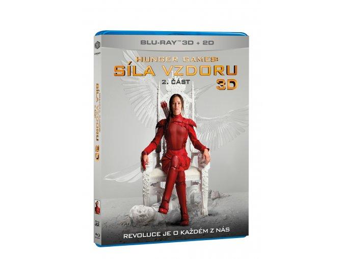 Hunger Games: Síla vzdoru 2. část 2BD (3D+2D)