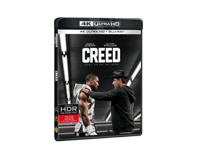 Blu-ray:Creed  (4K Ultra HD) - UHD Blu-ray + Blu-ray (2 BD))