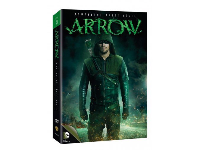 DVD: Arrow 3.série 5DVD (VIVA balení)
