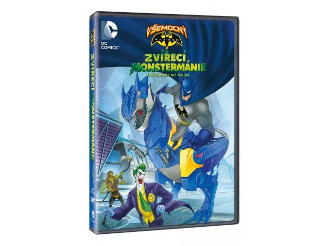 DVD: Všemocný Batman: Zvířecí Monstermánie