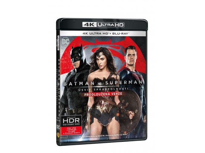 Blu-ray: Batman vs. Superman: Úsvit spravedlnosti - prodloužená verze - (4K ULTRA HD) - UHD Blu-ray + Blu-ray (2 BD)
