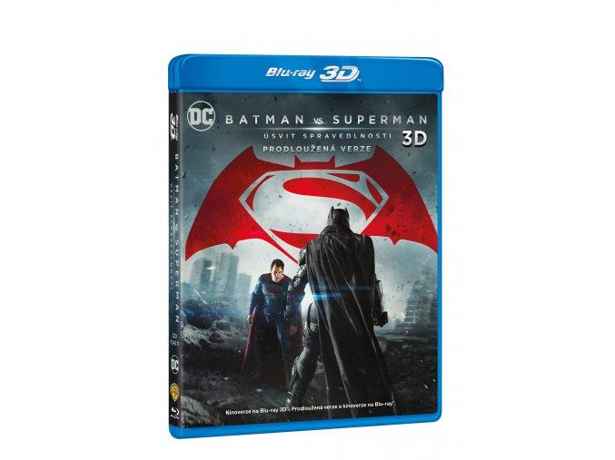 Blu-ray: Batman vs. Superman: Úsvit spravedlnosti 3BD (3D+2D+2D prodloužená verze)