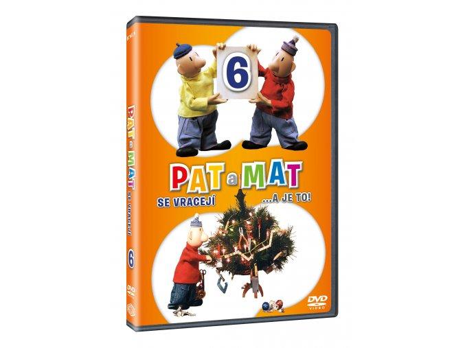 Pat a Mat 6 DVD