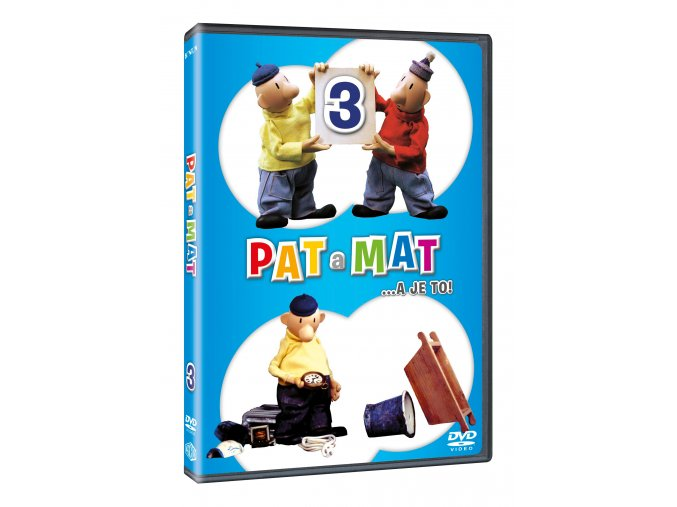 DVD: Pat a Mat 3