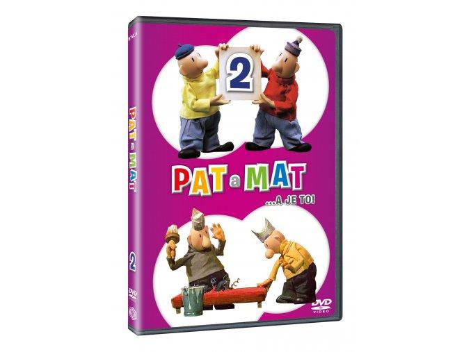 DVD: Pat a Mat 2