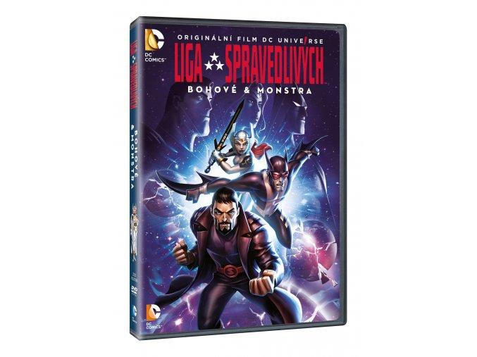 DVD: Liga spravedlivých: Bohové & monstra