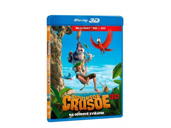 Robinson Crusoe: Na ostrově zvířátek BD (3D+2D)