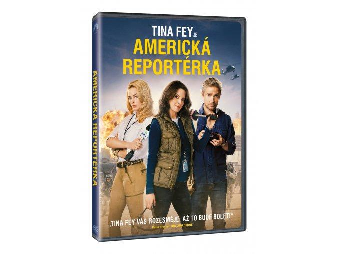 DVD: Americká reportérka