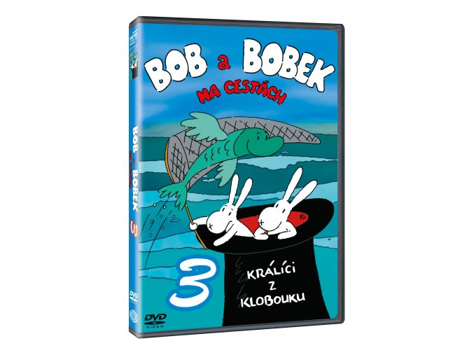 DVD: Bob a Bobek na cestách 3