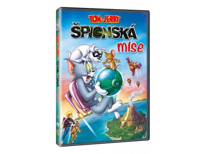 DVD: Tom a Jerry: Špionská mise