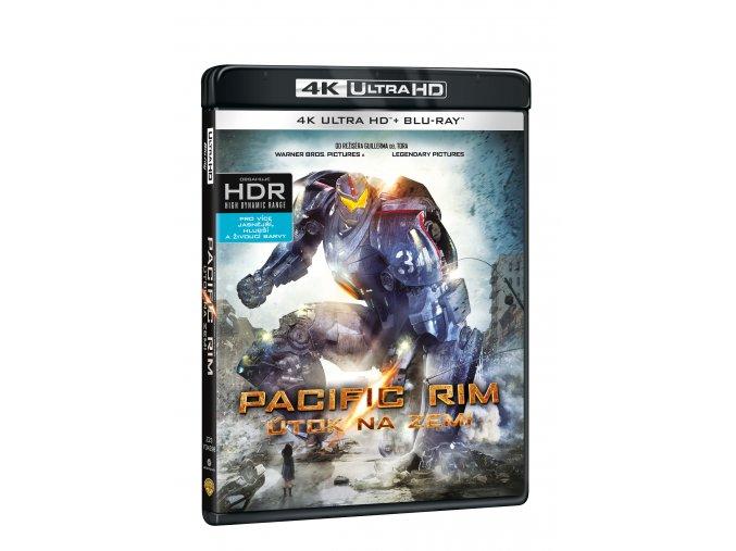 Pacific Rim - Útok na Zemi 2BD (UHD+BD)