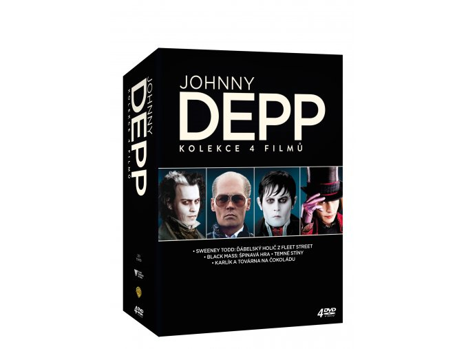 Johnny Depp kolekce 4DVD