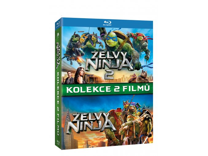 Blu-ray: Želvy Ninja kolekce 1-2 2BD