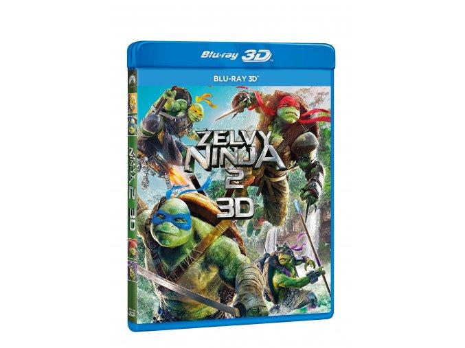 Blu-ray: Želvy Ninja 2. (3D)