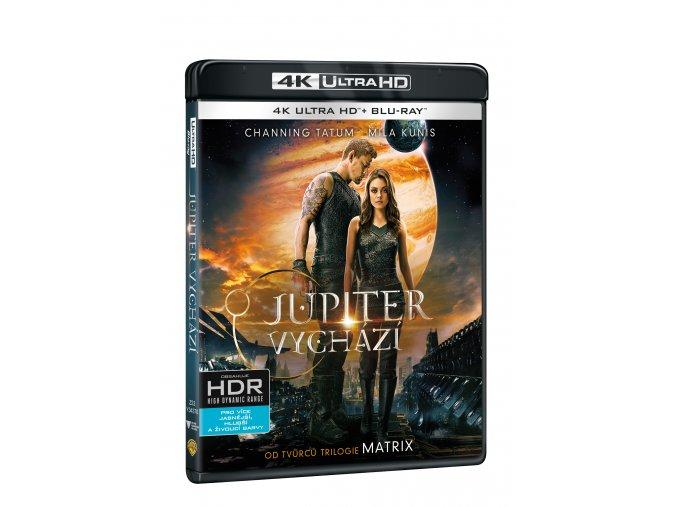 Jupiter vychází 2BD (UHD+BD)