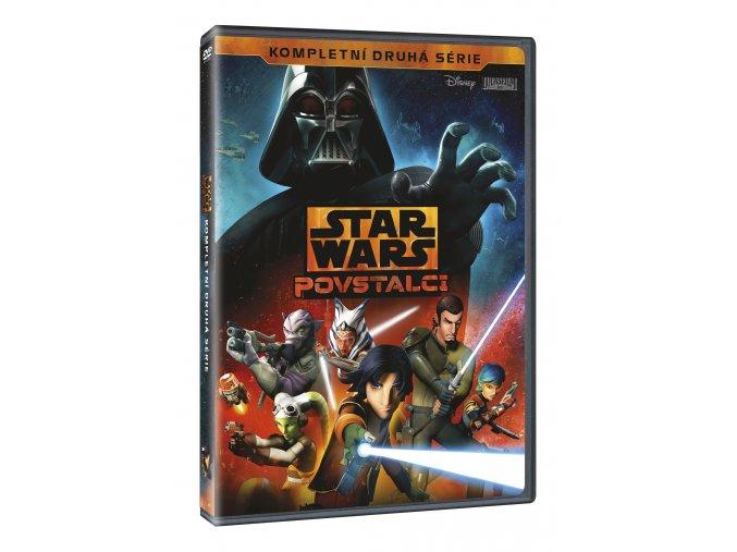 Star Wars: Povstalci 2. série 4DVD