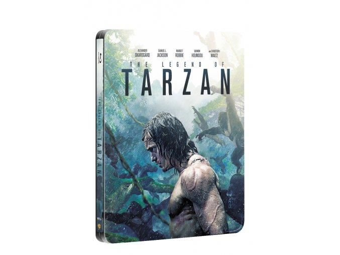 Legenda o Tarzanovi 2BD (3D+2D) - steelbook