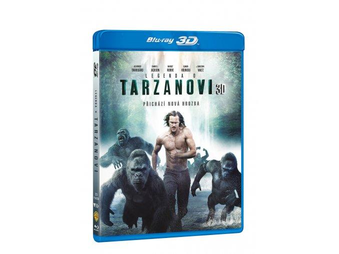 Legenda o Tarzanovi 2BD (3D+2D)