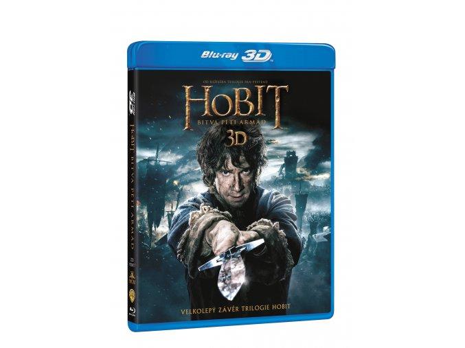 Blu-ray: Hobit: Bitva pěti armád 4BD (3D+2D)