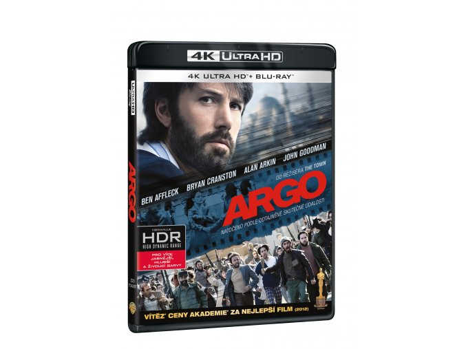 Blu-ray: Argo (4K ULTRA HD) - UHD Blu-ray + Blu-ray (2 BD)