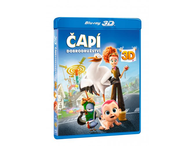 Blu-ray: Čapí dobrodružství 2BD (3D+2D)