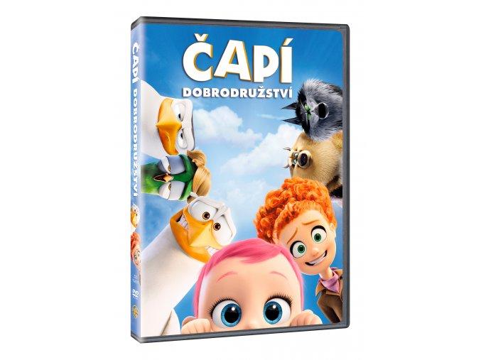 DVD: Čapí dobrodružství
