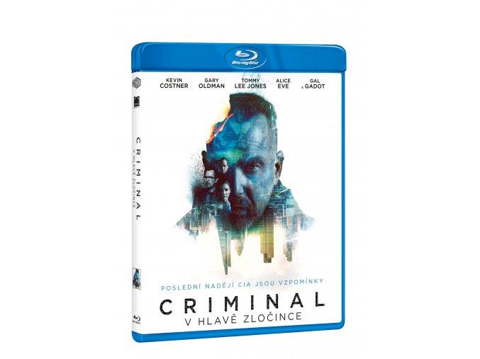 Blu-ray: Criminal: V hlavě zločince