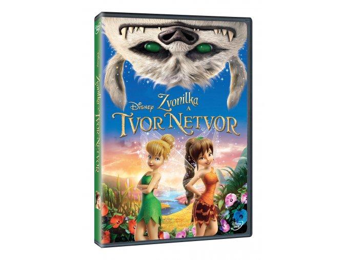 Zvonilka a tvor Netvor DVD