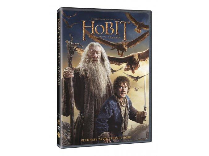 DVD: Hobit: Bitva pěti armád