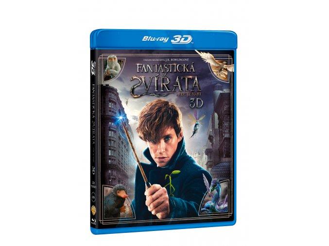 Blu-ray: Fantastická zvířata a kde je najít 2BD (3D+2D)