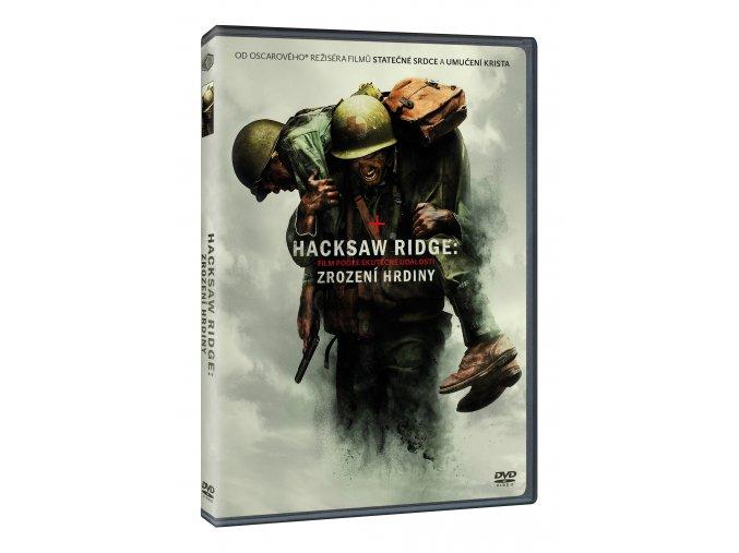 DVD: Hacksaw Ridge: Zrození hrdiny