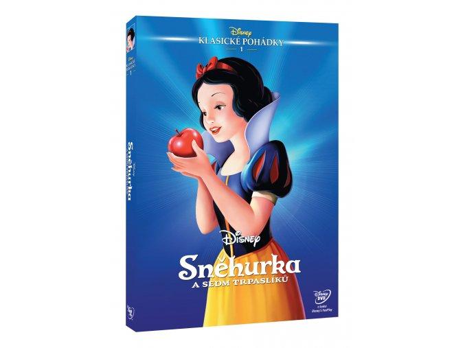 Sněhurka a sedm trpaslíků DVD - Edice Disney klasické pohádky