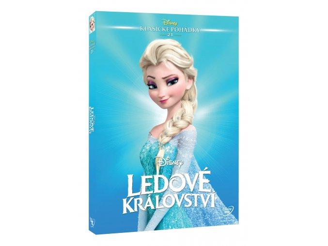 DVD: Ledové království - Edice Disney klasické pohádky