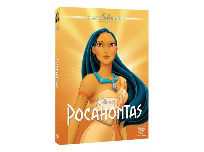Pocahontas DVD - Edice Disney klasické pohádky