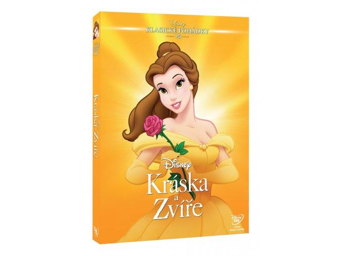 DVD: Kráska a zvíře S.E. (1991) - Edice Disney klasické pohádky