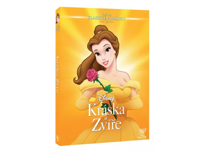 Kráska a zvíře S.E. DVD (1991) - Edice Disney klasické pohádky