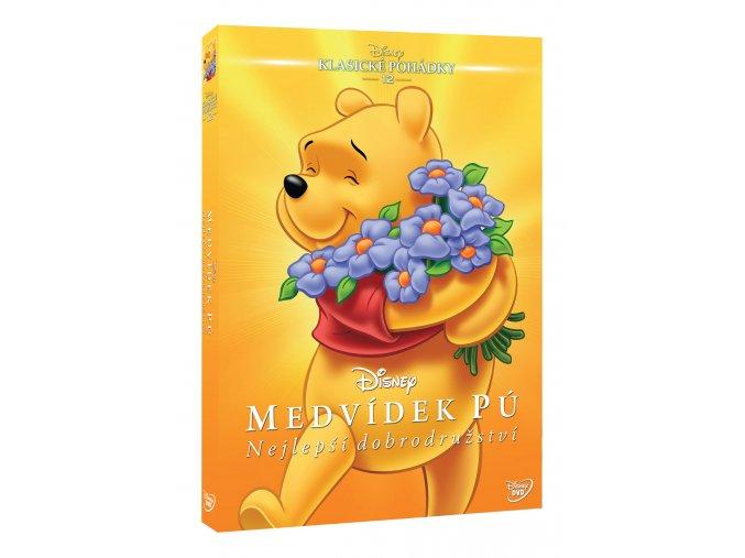 DVD: Medvídek Pú: Nejlepší dobrodružství - Edice Disney klasické pohádky