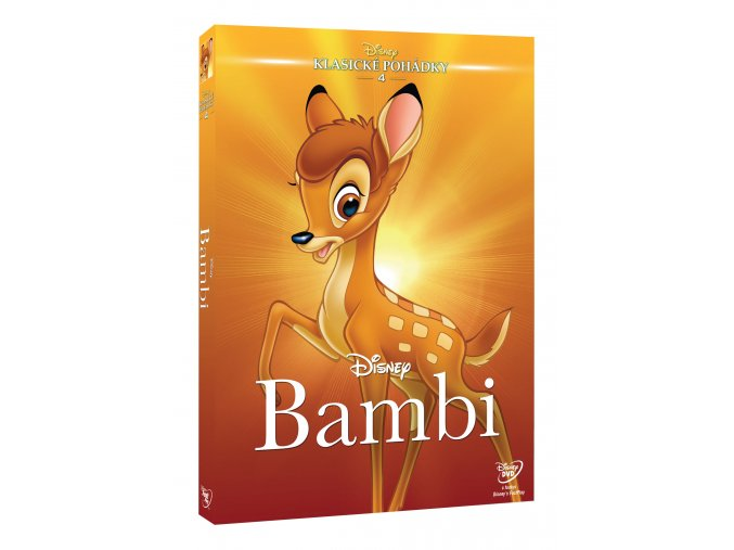 DVD: Bambi DE - Edice Disney klasické pohádky