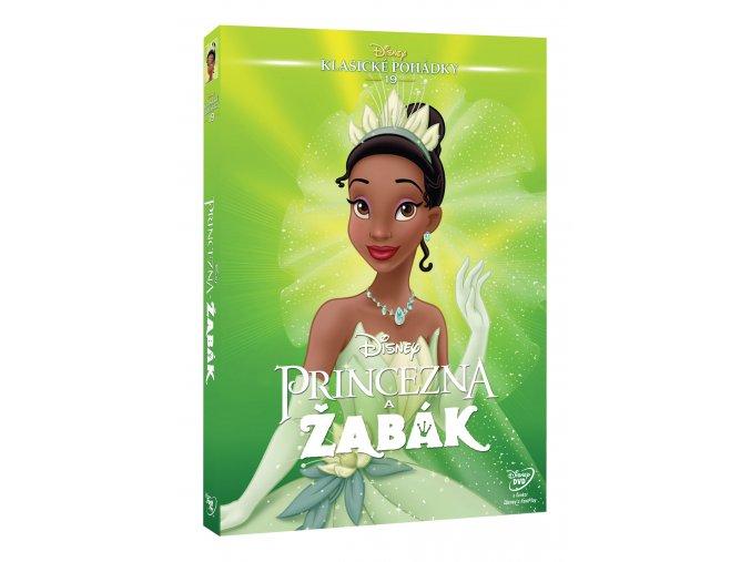 Princezna a žabák DVD - Edice Disney klasické pohádky