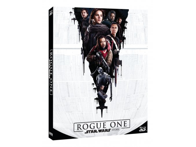 Rogue One: Star Wars Story 3BD (3D+2D+bonus disk) - rukáv