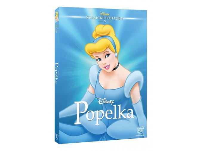 DVD: Popelka DE - Edice Disney klasické pohádky
